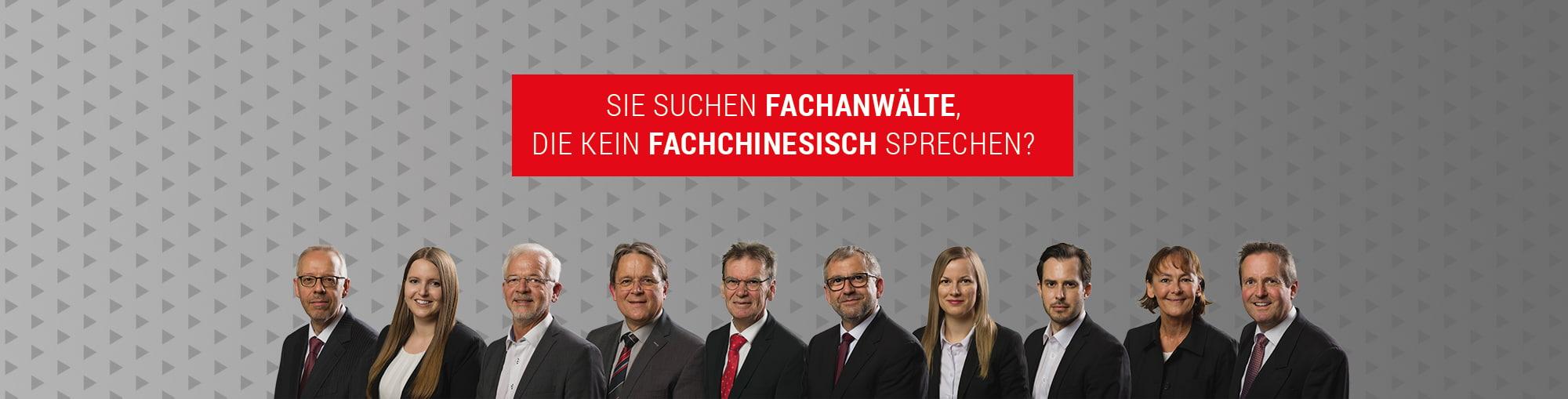 Das Team der Kanzlei Willi
